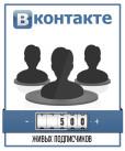 500 Живых подписчиков ВКонтакте - Это не накрутка!